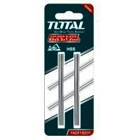 TOTAL - Set lame rindea electrica HSS - 82X5.5X1.2mm - 2 buc (INDUSTRIAL)